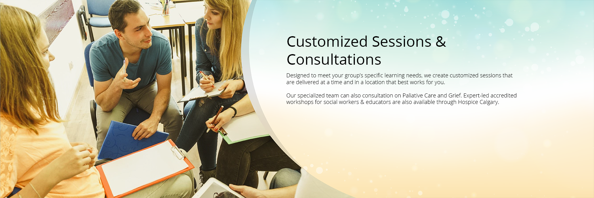 Customized Sessions & Consultations