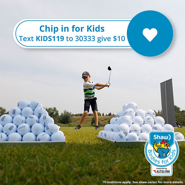 2021 Birdies for Kids Chip in for Kids Campaign